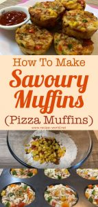 Savoury Muffins - Pizza Muffins