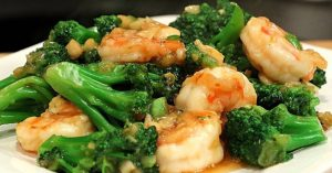 Shrimp And Broccoli In Garlic Sauce, One Sauce For Many Dishes