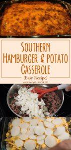 Southern Hamburger and Potato Casserole (Easy Recipe)