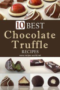 10 Best Chocolate Truffle Recipes