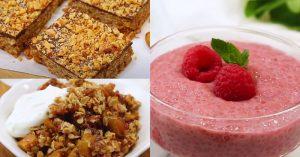 3 Healthy(ish) Dessert Recipes - Gluten Free + Dairy Free
