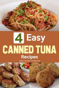 4 Easy Canned Tuna Recipes