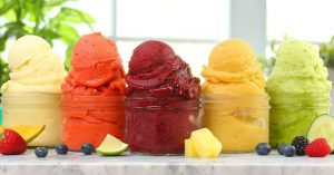 5 EASY Fruit Sorbets