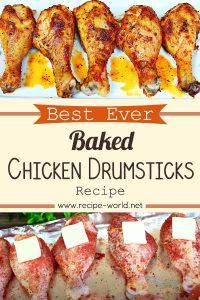 Best Ever Baked Chicken Drumsticks