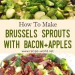 Brussels Sprouts With Bacon And Apples