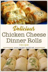 Chicken Cheese Dinner Rolls