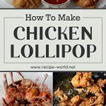 Chicken Lollipop Recipe
