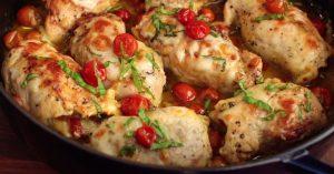 Chicken Pesto Roll-Ups Recipe - Easy Stuffed Chicken