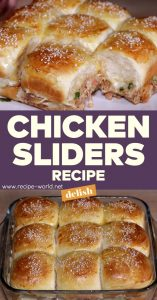Chicken Sliders Recipe