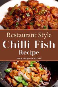 Chili Fish Recipe - Restaurant Style