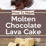 Chocolate Lava Cake Recipe | How To Make Molten Chocolate Lava Cake