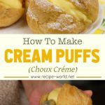 Cream Puffs (Choux Créme) Recipe
