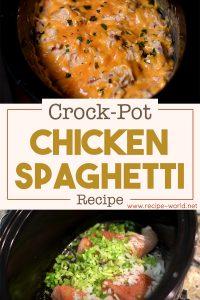 Crock-Pot Chicken Spaghetti Recipe