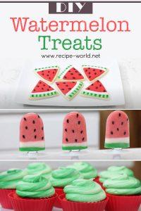 DIY Watermelon Treats