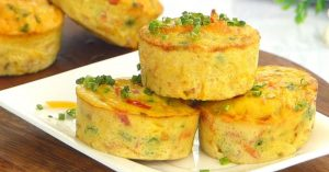 Easy Egg Muffin - Healthy Breakfast Recipe for kids by Tiffin Box