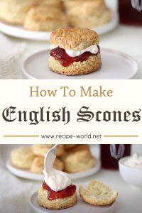 English Scones Recipe