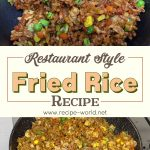 Fried Rice | Restaurant Style Fried Rice Recipe