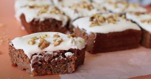 Healthy Carrot Cake Recipe - Easy and Healthy Dessert Recipe