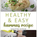 How To Make Hummus | Healthy & Easy Hummus Recipe