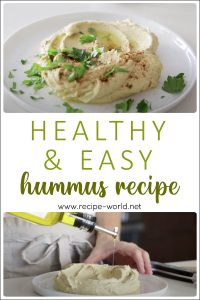 Healthy & Easy Hummus Recipe