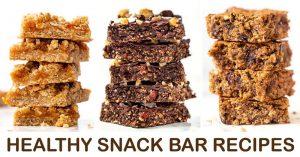 Healthy Vegan Snack Ideas - 3 Gluten-Free Snack Bars