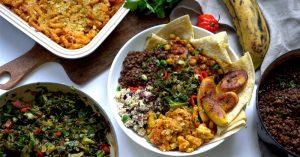 High Protein Vegan Caribbean Feast