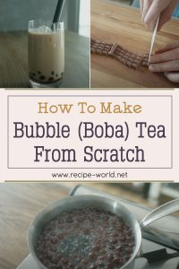 How To Make Bubble Tea From Scratch