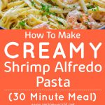 How To Make Creamy Shrimp Alfredo Pasta
