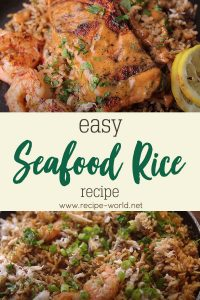 How To Make Easy Seafood Rice