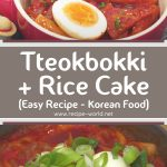 How To Make Tteokbokki + Rice Cake [Easy Recipe] Korean Food