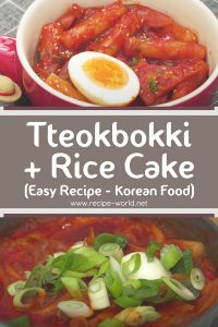 How To Make Tteokbokki + Rice Cake [Easy Recipe] Korean Food