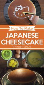 Japanese Cheesecake - Delicious Baking Recipe