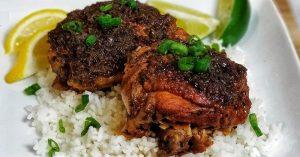 Jerk Chicken Recipe - Crockpot Recipes
