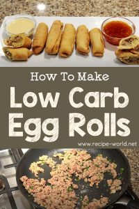 Low Carb Egg Rolls