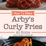 Making Arby's Curly Fries At Home
