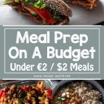 Meal Prep On A Budget – Under €2 / $2 Meals