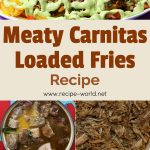 Meaty Carnitas Loaded Fries Recipe