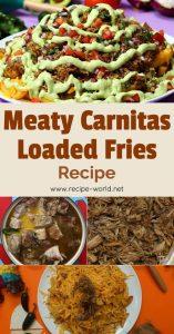Meaty Carnitas Loaded Fries Recipe