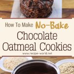 No-Bake Chocolate Oatmeal Cookies Recipe