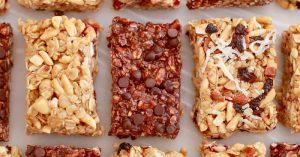 No-Bake Granola Bars (Back To School Recipe)