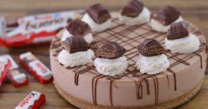 No-Bake Kinder Bueno Cheesecake Recipe