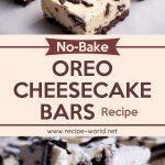 No-Bake Oreo Cheesecake Bars