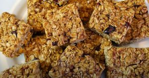 No-Bake Peanut Butter Oat Bars