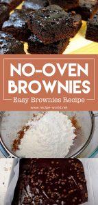 No-Oven Brownies - Easy Brownies Recipe