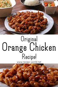 Original Orange Chicken Recipe