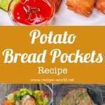 Potato Bread Pockets | Vegetables Bread Pockets | Easy Snacks Recipe | Tiffin Box Idea