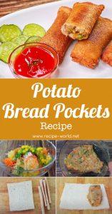 Potato Bread Pockets - Vegetables Bread Pockets