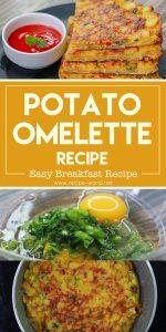 Potato Omelette Recipe - Easy Breakfast Recipe