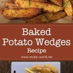 Potato Wedges Recipe | How to Make Baked Potato Wedges