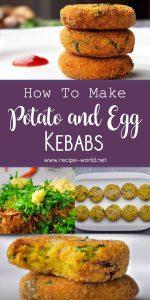 Potato and Egg Kebabs